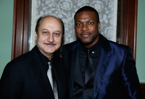 Anupam Kher and Chris Tucker represent the two P.O.C's in Silver Linings Playbook.