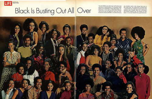 In this same issue of Life Magazine, Black models of all hues were featured, demonstrating Black beauty and style.