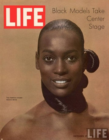 In 1969, Supermodel Naomi Sims demonstrated that Black is both beautiful and fierce by serving as Life Magazine's covergirl.